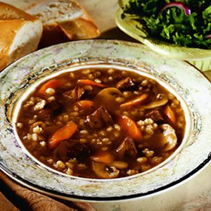 Beef Barley Vegetable Soup Recipe