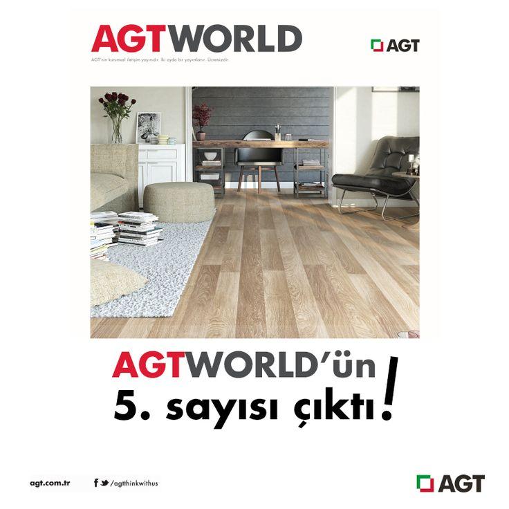 Hala okuyamayanlar için AGTWORLD Temmuz- Ağustos sayısı burada!   http://www.agt.com.tr/tr/agtworld