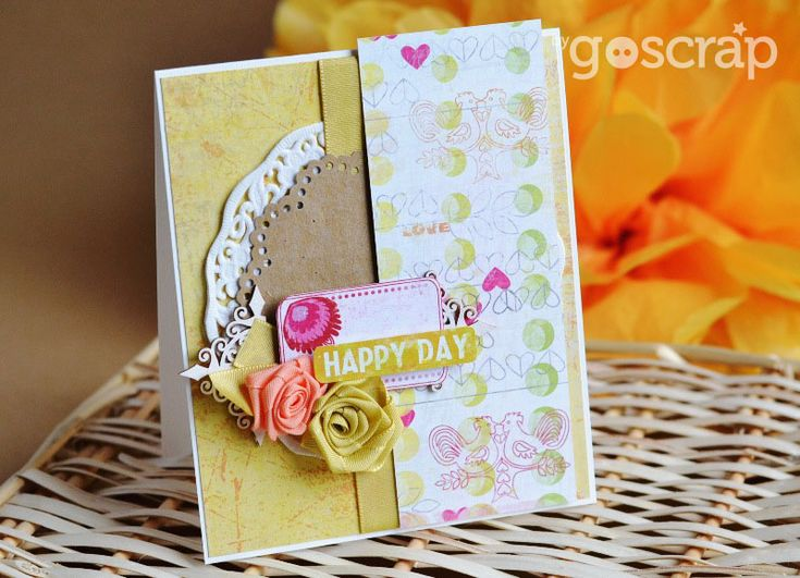 waiting for spring - card by Anula #GOscrap #scrapbooking