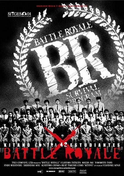 """Battle Royale"" AKA ""Batoru Rowaiaru"" > 2000 > Directed by: Kinji Fukasaku > Action Horror / Thriller / Action Thriller / Sci-Fi Thriller"