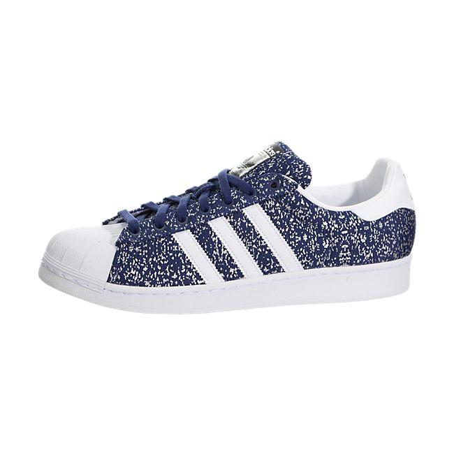 Adidas Superstar Sportschoenen Blauw / Wit | Adidas Trainers UK |  AN6557AQ540