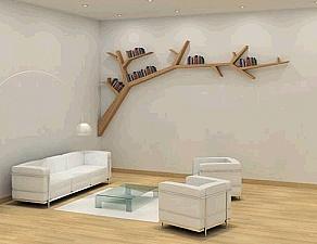 Great idea for DIY bookshelf!