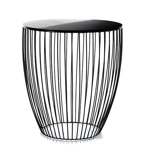 Element Round Side Table Black