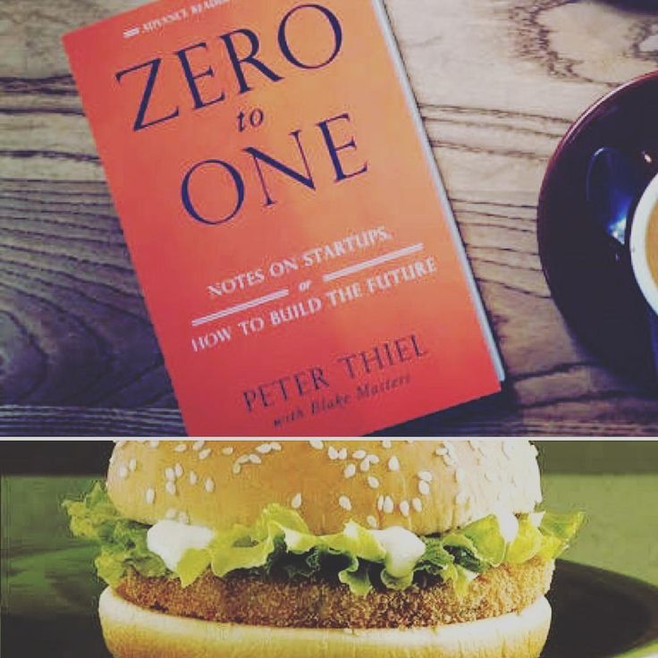 """""""Monopoly is the condition of every successful business."""" #booksandcooks  #nowreading Zero to One by Peter Thiel  #noweating The monopoly of monopolies McDonalds Veggie burger. Let's just call this one a cheat meal   #books #reading #food #foodporn #philosophy #cool #love #foodlove #instafood #soul #heart #startup #startuplife #entrepreneur #entrepreneurlife #work #quote #qotd #quoteoftheday #inspire #instaquote #quotegram #yumyum #mcdonalds #veggieburger #burger #fastfood"""