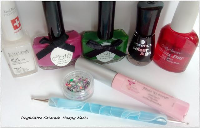 Unghiutze colorate-Happy nails: Nail Art Marathon-18.Saran Wrap