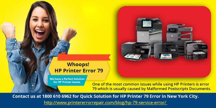 All hp printer errors get easily solved on one call 1800