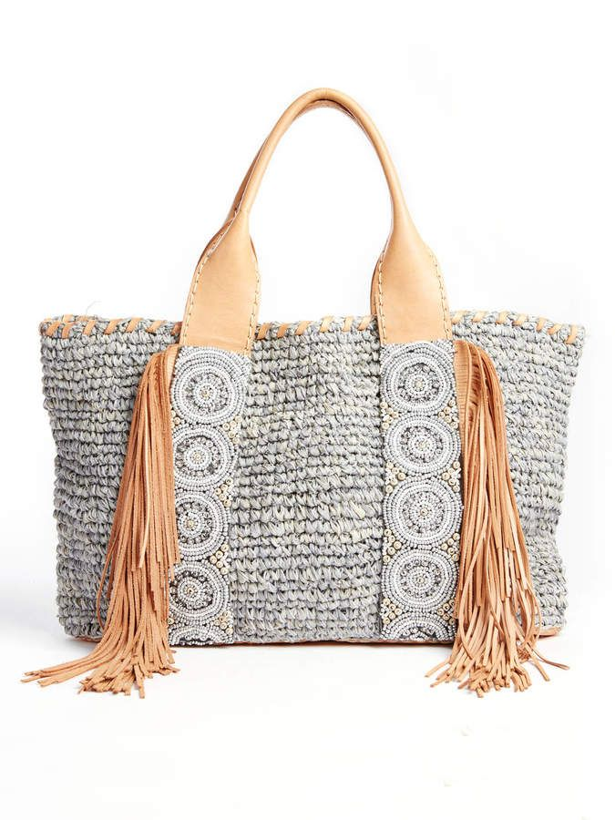 36193c9c91 Cocobelle Isabella Straw Tote Bag for summer Straw Purse with fringe in a  boho chic casual relaxed style that says vacation  vacation  boho  bohochic    ...