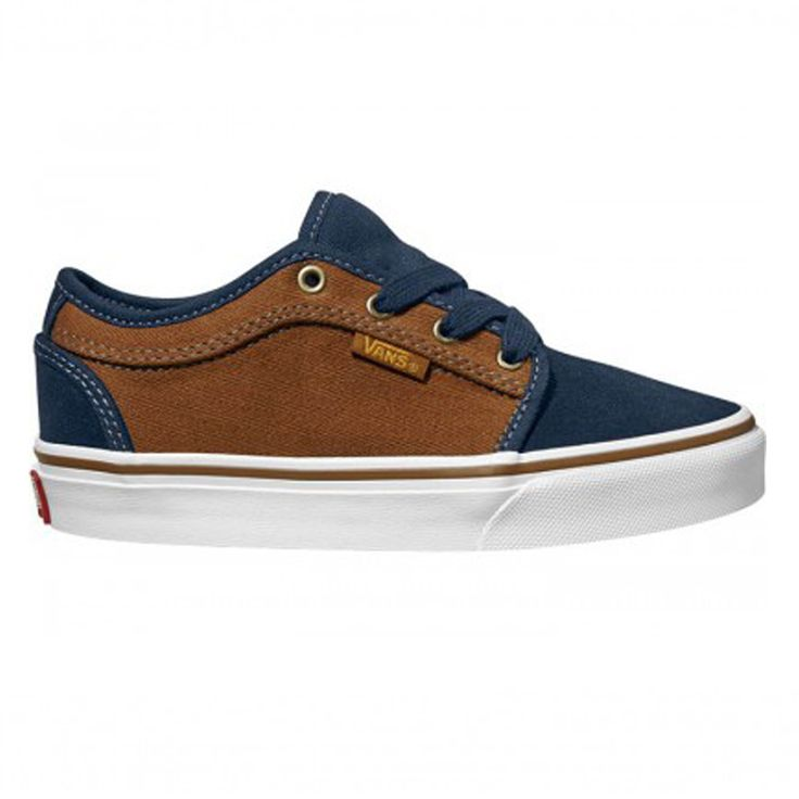 Vans Chukka Low Herringbone Navy/Brown                                                                                                                                                                                 Mais
