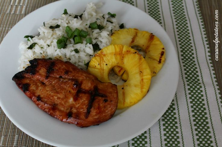 Grilled Hawaiian Chicken-time to heat up the grill, cant wait to try this.  Sounds amazing!