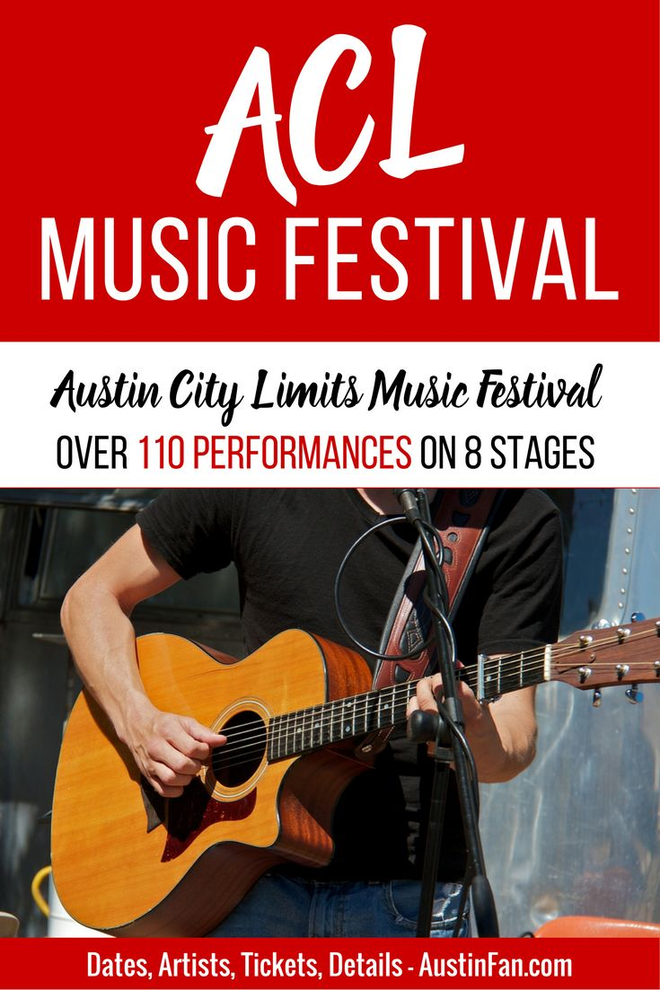 Austin Music Festival: Over 110 performances on 8 stages. Dates, Artists, Tickets, Details - AustinFan.com