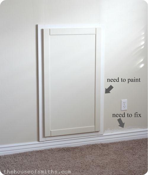 ideas half doors basement makeover panel doors plumbing access door