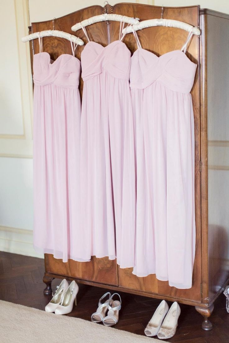 Bridesmaids dresses ready for the big day!