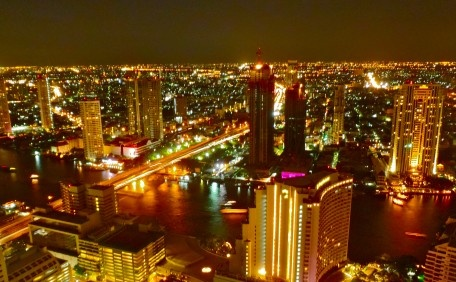 """View from La Bua Hotel at the State Tower"" - Bangkok, Thailand"