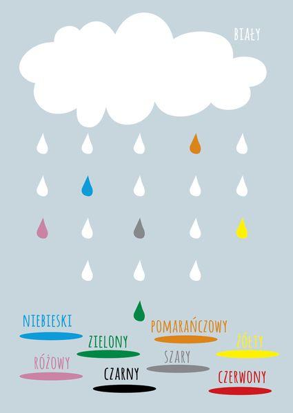 Plakat dla dzieci / Kolory - Pan-Grafik - Plakaty dla dzieci