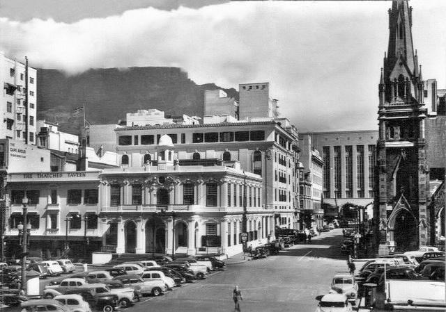 Greenmarket Square 1950.