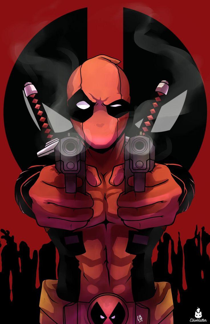 #Deadpool #Fan #Art. (DEADPOOL) By: EIKO BLASTER. ÅWESOMENESS!!!™ ÅÅÅ+