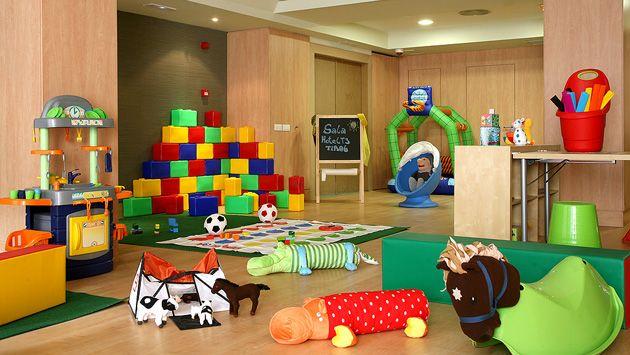 Tus hijos no querrán salir de esta gran sala de juegos. #Sala de #juegos para #niños