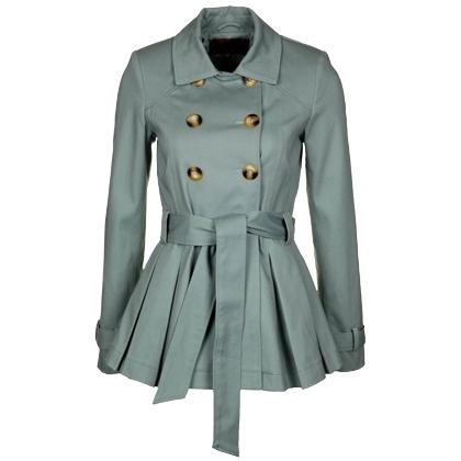 Jacke mit Schößchen im Army-Look