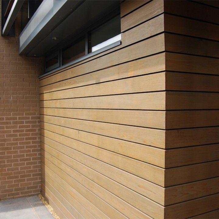 Western Red Cedar No.4 Clear Rainscreen Cladding - 19 x 144mm