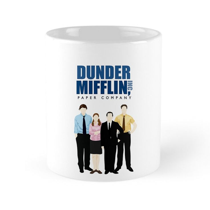 Our The Office Cartoon - Dunder Mifflin Mug is available online now for just £9.99.    Fan of The Office? You'll love our The Office Cartoon - Dunder Mifflin mug, made from glossy ceramic and totally dishwasher safe!    Material: Ceramic, Features: Our glossy ceramic mugs are perfect for an afternoon tea or a super chilled winter hot coco. Made from ceramic and dishwasher safe, so no need to worry about doing the washing up by hand... BORING!, Designed & Produced in: United Kingdom…