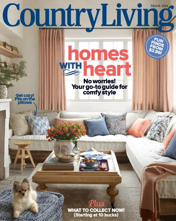 66 best country living covers images on pinterest for Magazine living room ideas