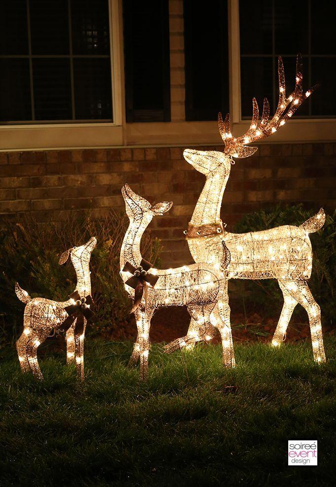 25+ unique Reindeer lights ideas on Pinterest Christmas reindeer - light up christmas decorations