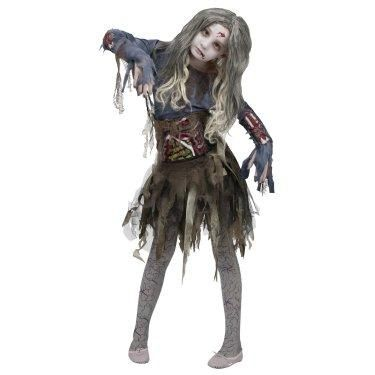 Scary Zombie Costume For Girls $39.99