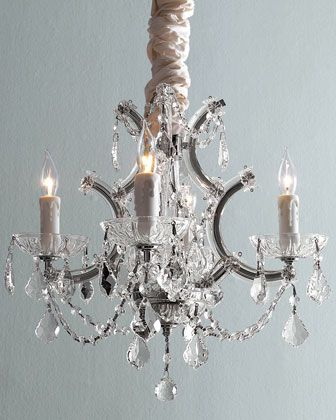 """""""Maria Theresa"""" Lighting at Horchow.: Dining Rooms, Hands Cut Crystals, Maria Theresa, Four Lights Maria, Theresa Chandeliers, Kitchens Islands, Master Bedrooms, Neiman Marcus, Master Bathroom"""