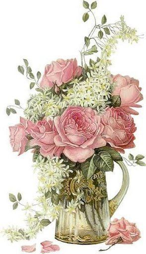 papers.quenalbertini: Pitcher of Roses