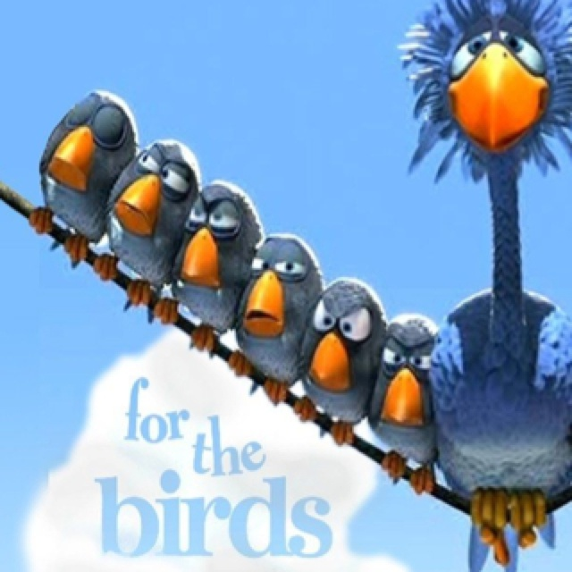 """Pixar Short, """"For the Birds"""". One of my favorites!"""