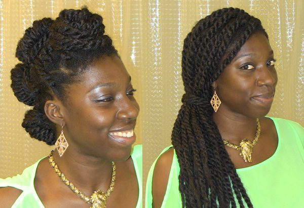Four Easy Havana Twist Styles - 4C Hair Chick | A place for women who love hair, business, and health
