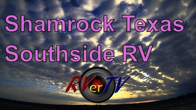 Texas  Sunset......Shamrock Texas....SouthSide RV Park...RVerTV