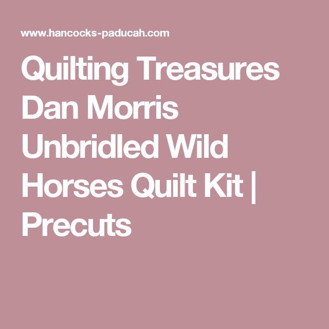 Quilting Treasures Dan Morris Unbridled Wild Horses Quilt Kit | Precuts