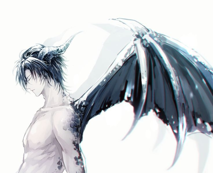 Individual Roleplay Book - The Dragon Hybrid in 2020   Dark anime ...