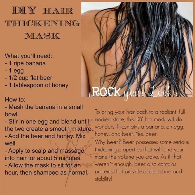 Hair Thickening Mask.