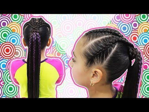 Trenza rapera de 4 colas | Trenza africana de 4 colas| Braid Rapper - YouTube