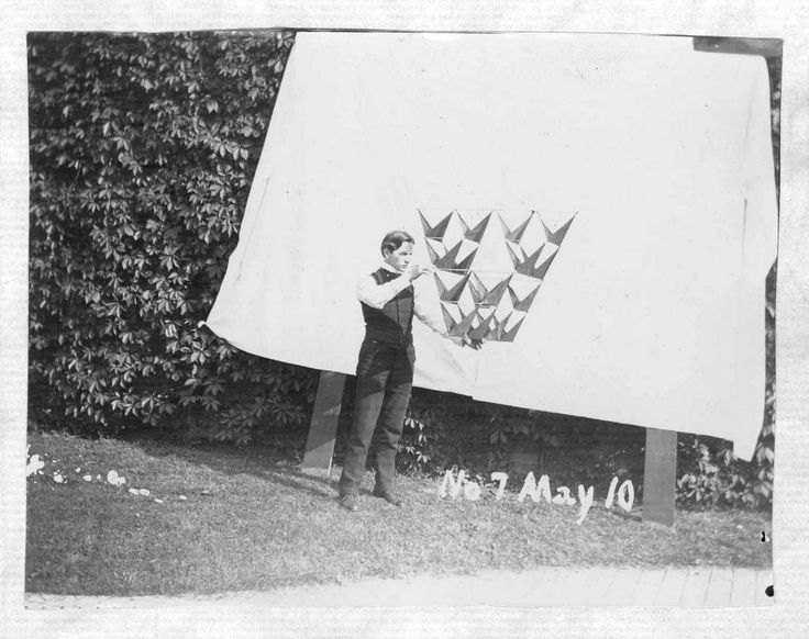 Alexander Graham Bell's Tetrahedral Kites (1903–9) | The Public Domain Review