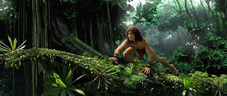 The Legend of Tarzan Movie Wallpapers