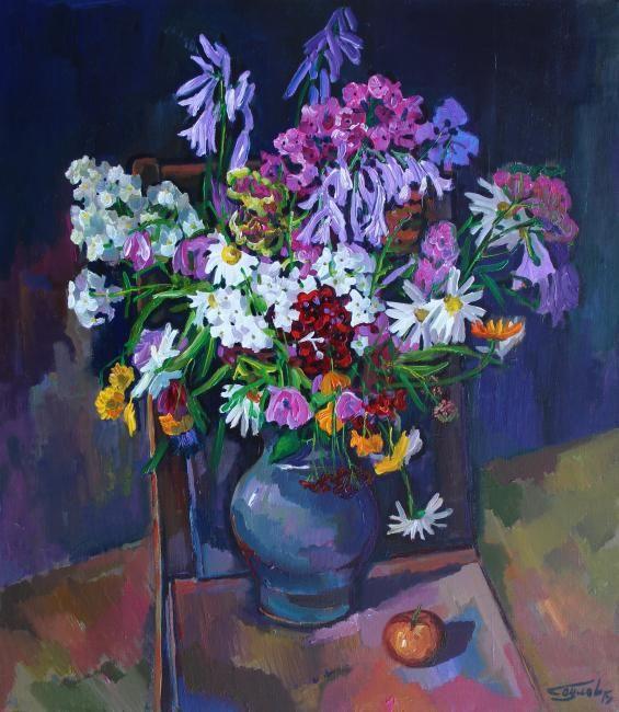 Саулов Олег. Июльские цветы