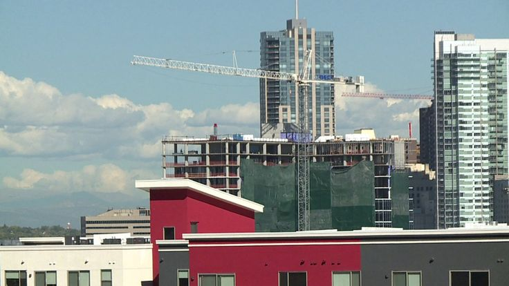 """DENVER --Denver's apartment rental market could finally be cooling after years of increasing prices.  A record number of new apartment communities means more vacancies and and falling rent prices for consumers.  """"It's definitely booming a lot,"""" said Raquel Tarantino, a renter in the Capitol Hill area of Denver for the past three years."""