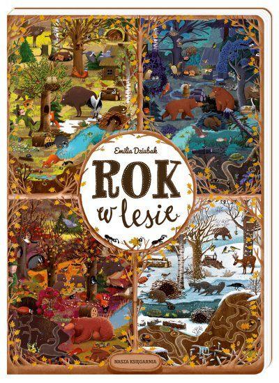 Rok w lesie - książki dla dzieci | ambelucja.pl