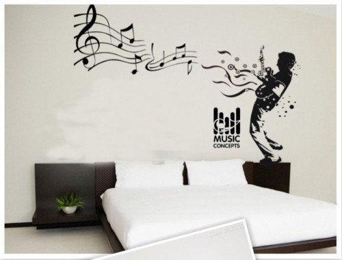 Music Man Nature Vinyl Wall Paper Decal Art Sticker Part 66