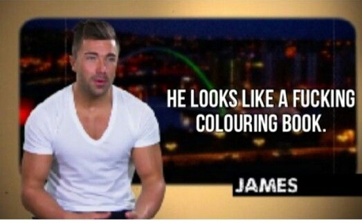 James geordie shore quotes