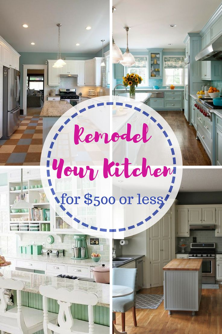 Easy Ways To Remodel Your Kitchen For Less Than 500 These Inexpensive Diys Look Great