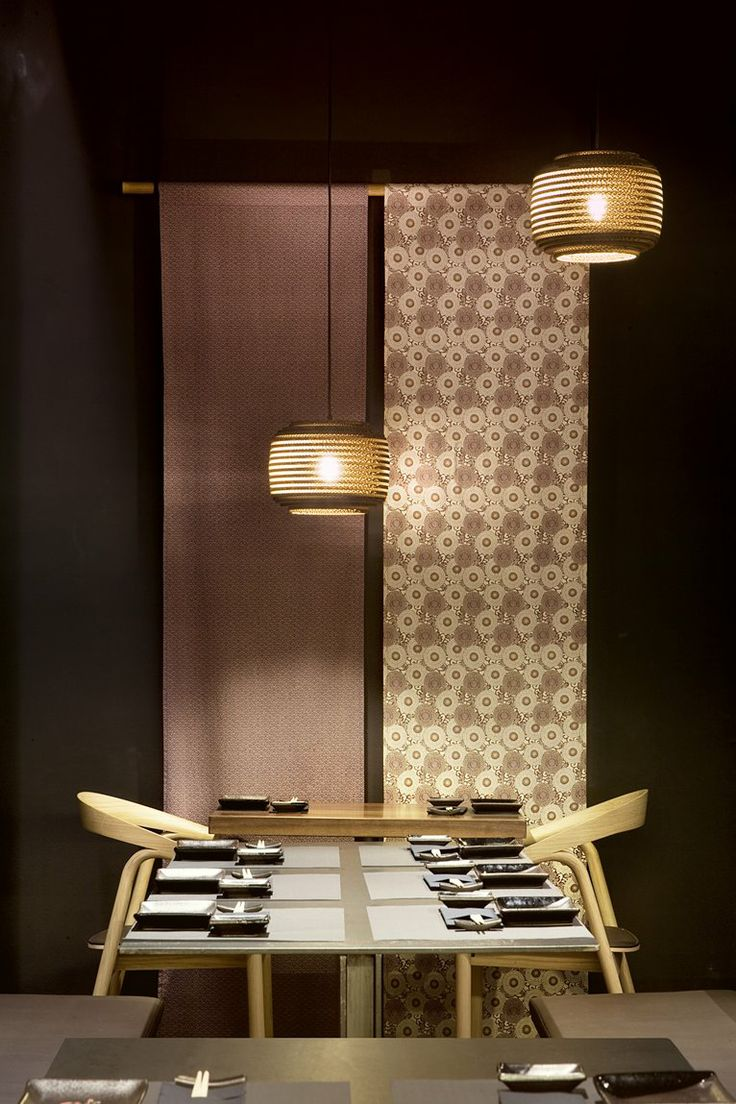Wabi Sabi - Valladolid, Spain by Sandra Tarruella interioristas #japan #restaurant