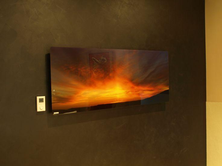 infrarood paneel met opdruk, uw verwarming is een kunstwerk