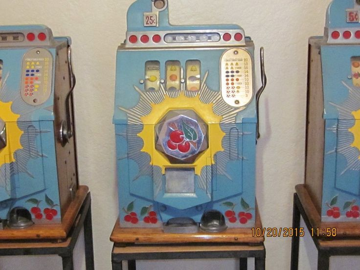 Antique Cion Slot Machine   eBay