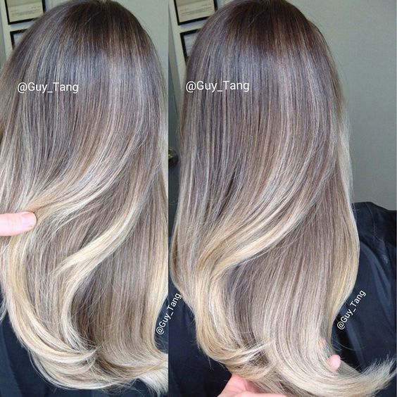 ash blonde balayage - Google Search