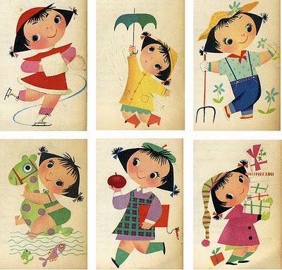 Mary BlairWall Art, Mary Blair, Maryblair, Alice In Wonderland, Vintage Illustration, Umbrellas Art, Meadow Gold, Book Illustration, Children Book