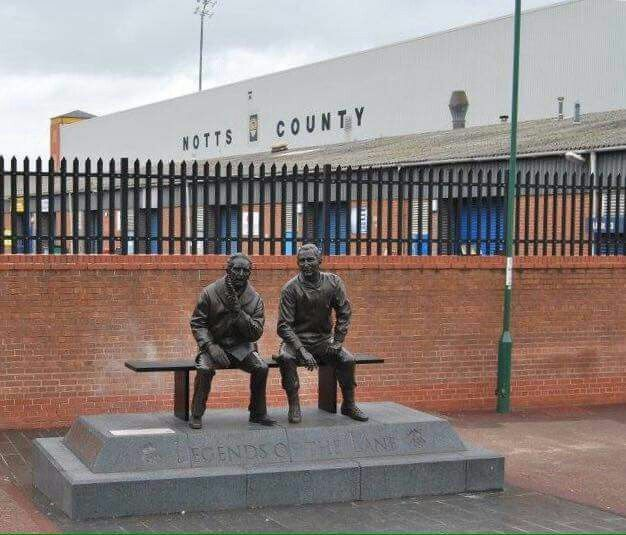 Two Notts County legends
